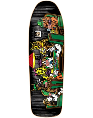 Almost Mullen Dog Poker Skateboard Deck - 9.625