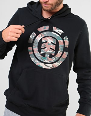 Element Logo Fill Pullover Hoodie - Flint Black