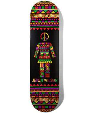 Girl Wilson Dashiki Skateboard Deck - 8