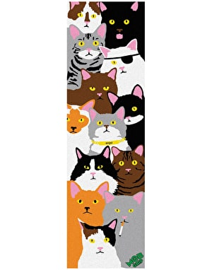 Enjoi x MOB Cat Collage Grip Tape Sheet