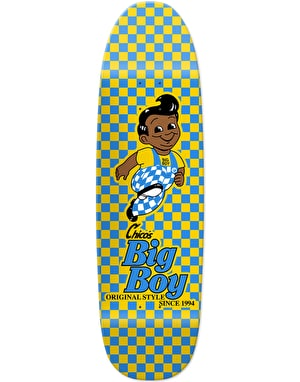 Chocolate Brenes Checker 'Big Boy Jr.' Skateboard Deck - 8.75