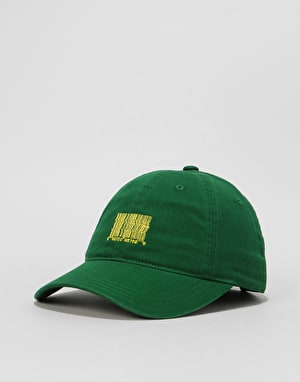 Route One Barcode Cap - Forest Green
