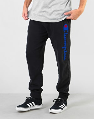 Champion Logo Rib Cuff Sweatpants - NBK