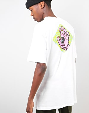 Santa Cruz Extinct Hand T-Shirt - White
