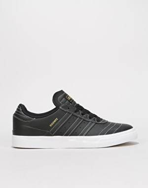 Adidas Busenitz Vulc Skate Shoes - Black/Black/White