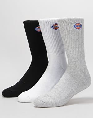 Dickies Valley Grove 3-Pack Socks - Assorted