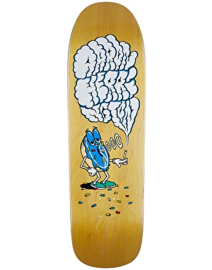 Polar Herrington Smoking Donut Skateboard Deck - 1991 Shape 9.25