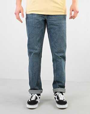 Route One Premium Regular Denim Jeans - Light Wash