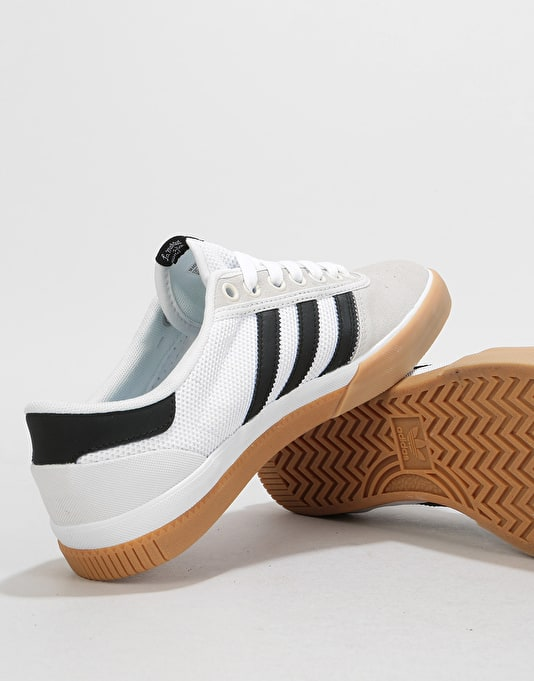 Adidas Lucas Premiere Skate Shoes - Crystal White/Black/Gum