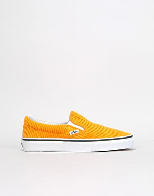 Vans Slip-On Womens Trainers - (Design Assembly) Sunflower/True White