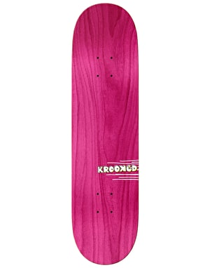 Krooked Sebo Talk the Walk Skateboard Deck - 8.25