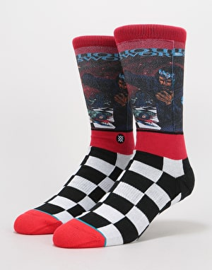 Stance x Wu Tang Liquid Swords Classic PiqueSocks - Red