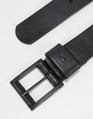Nixon Americana Leather Belt - Black