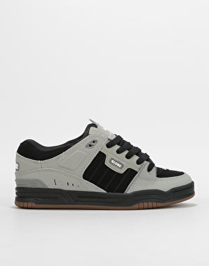 Globe Fusion Skate Shoes - Drizzle Grey/Black