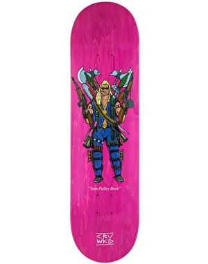 CRV WKD Pulley Beware of the Dog Skateboard Deck - 8.25