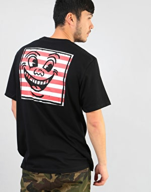 Element x Keith Haring KH Smile T-Shirt - Flint Black