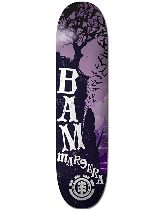 Element Bam Gnarled Skateboard Deck - 8.25""