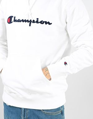Champion Hooded Sweatshirt - WHT