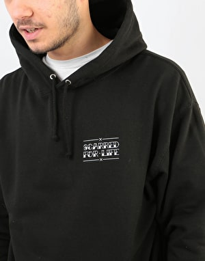Scarred For Life Eagle & Dagger Pullover Hoodie - Black