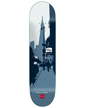 Chocolate Tershy City Series Skateboard Deck - 8.25