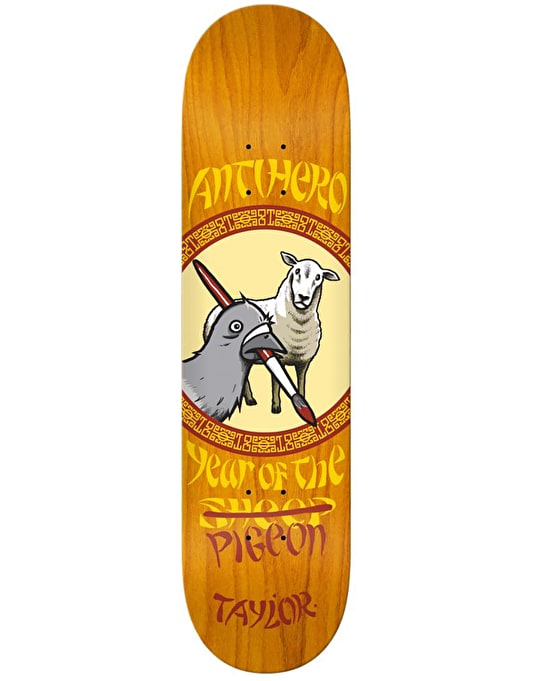 Anti Hero Taylor Year of the Pigeon Skateboard Deck - 8.5""