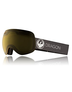 Dragon X1 2018 Snowboard Goggles - Echo/Transitions Yellow