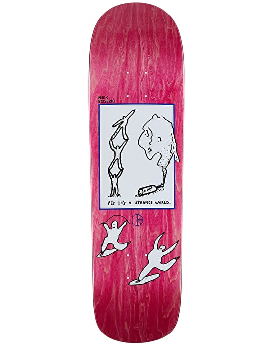 Polar Boserio It'S A Strange World Skateboard Deck - P8 Shape 8.8""