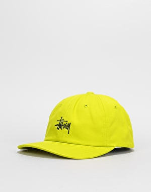 Stüssy Stock Low Pro Cap - Lime