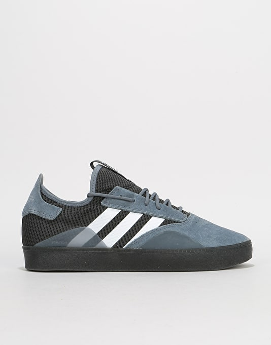 pretty nice 988e5 ff864 Adidas 3ST.001 Skate Shoes - OnixWhiteCore Black  Skate Shoes  Mens  Skateboarding Trainers  Footwear  Route One