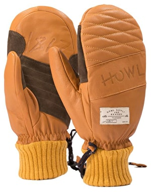 Howl Sexton 2019 Snowboard Mitts - Brown