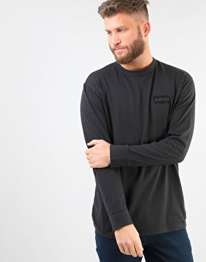 Levi's Skateboarding Graphic L/S T-Shirt - Black Core/Batwing Black