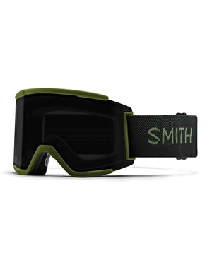 Smith Squad XL 2019 Snowboard Goggles - Moss Surplus/Sun Black
