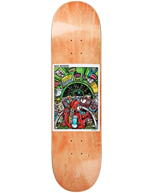 Polar Boserio Earth Attack Skateboard Deck - 8.6