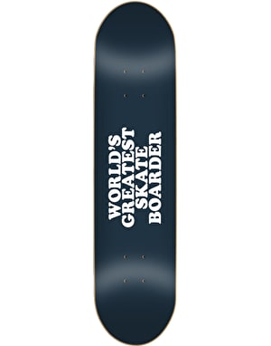 Skate Mental Worlds Greatest Skateboarder Skateboard Deck - 8