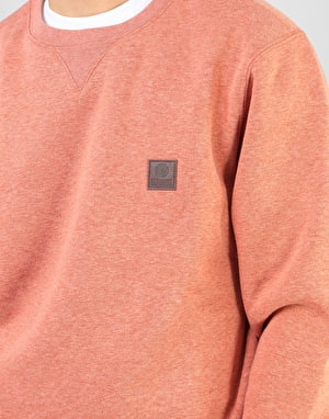 Element Heavy Crew Sweatshirt - Picante Heather