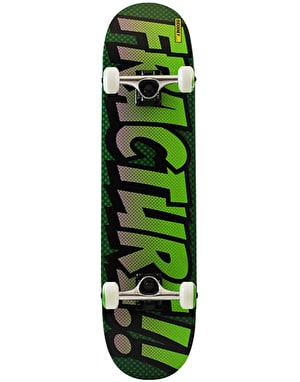Fracture Comic Series 4 'Gamma Green' Complete Skateboard - 7.75