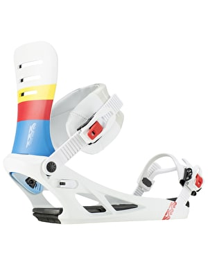 K2 Formula 2019 Snowboard Bindings - White