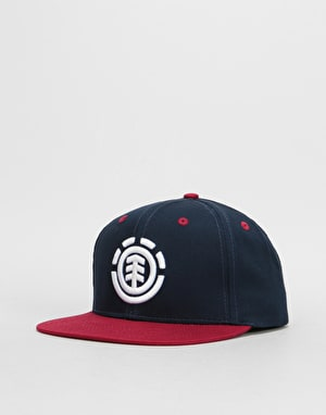 Element Knutsen Snapback Cap - Red Dalhia