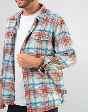 Patagonia Lightweight Fjord Flannel L/S Shirt - Rozman: Tailored Grey