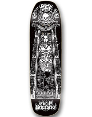 Death Belvedere Maiden 'Pool Shape' Skateboard Deck - 9