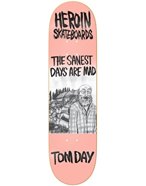 Heroin Day Wordsmith Skateboard Deck - 8.5