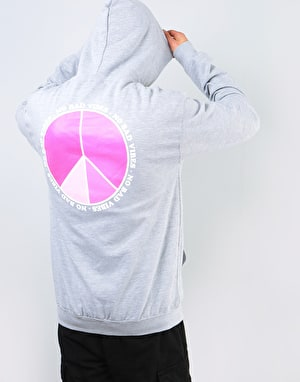 Route One Vibes Pullover Hoodie - Heather Grey