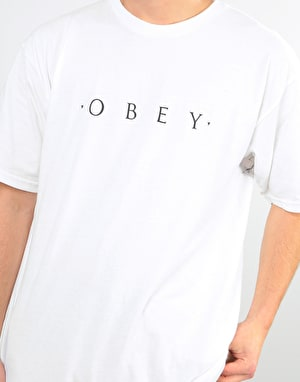 Obey Novel Obey T-Shirt - White