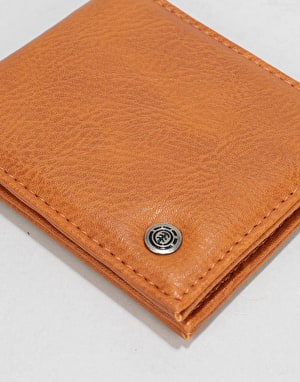 Element Bowo Wallet - Rust Brown