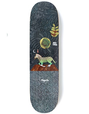 Magenta Lannon Perceptions Skateboard Deck - 8.6
