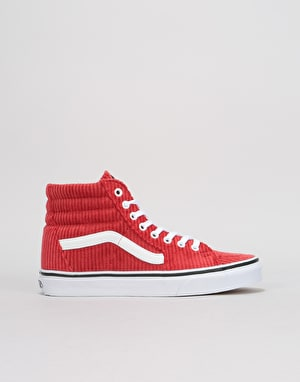 Vans Sk8-Hi Womens Trainers - (Design Assembly) Bossa Nova/True White