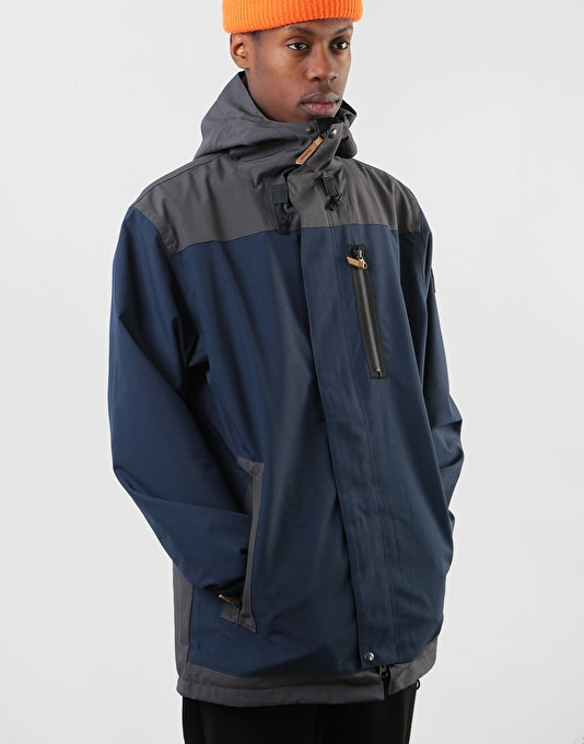 Sessions Scout 2019 Snowboard Jacket - Navy/Dark Grey