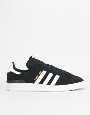 Adidas Campus ADV Skate Shoes - Core Black/White/White