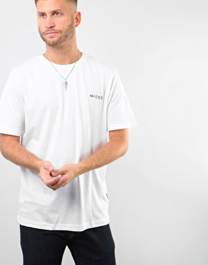 Nicce Chest Logo T-Shirt - White