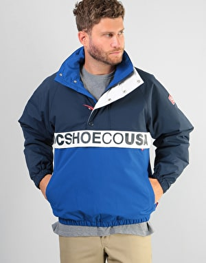 DC Hows That Pullover Jacket - Sodalite Blue